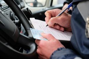 Штрафы за непостановку автомобиля на учет