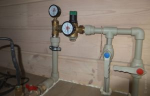 Как понизить давление центрального водопровода