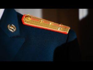 Видео как пришить погоны курсанта на китель
