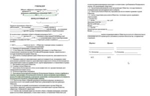 Протокол ооо о реорганизации в форме выделения образец