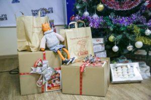 Комплект подарков на новый год многодетным семьям в москве