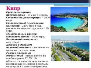 Кипр оффшорная зона или нет
