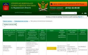 Как удалить информацию на сайте судебных приставов