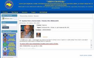 Как проверить есть ли человек в черном списке сбу украины