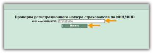 Регистрационный номер в ффомс по инн