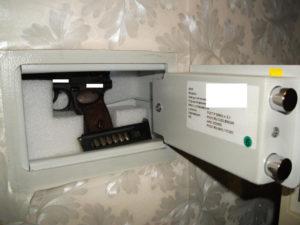 Какой сейф нужен для травматического оружия