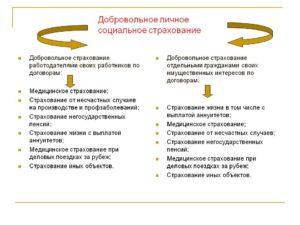 Приведите примеры договоров обязательного и добровольного страхования