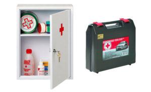 Медицинские аптечки должны храниться в пожарной охране