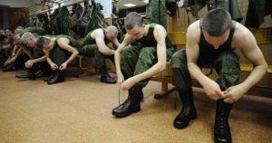 Во сколько встают в армии россии