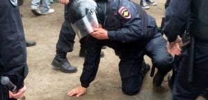 Статья за нападение на сотрудника полиции рф