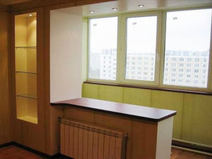 Можно ли узаконить демонтаж оконного блока между комнатой и балконом