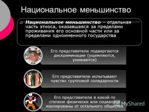 Нацменьшинство в россии примеры