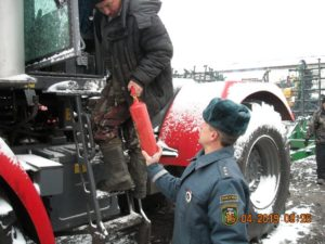 Техосмотр трактора в гостехнадзоре цена