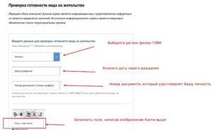 Проверка внж на готовность онлайн москва