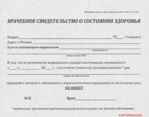 Организации акредитованные на выдачу справок ф297 от психиатра