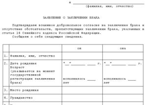 Какие документы нужны для заключения брака с гражданином таджикистана