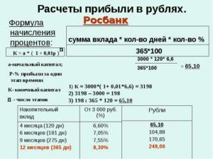 Как высчитать прибыль в процентах