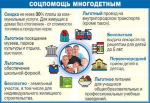 Кто является многодетной семьей в россии по закону в башкирии