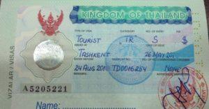 Виза в таиланд для киргизов