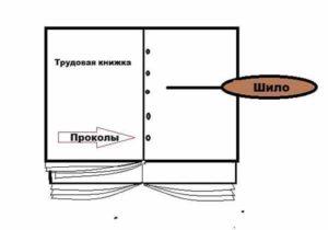 Как вшивать вкладыш в трудовую книжку образец видео