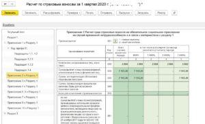 Расчет по страховым взносам 2020 приложение 2 признак выплат