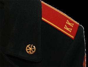 Как пришиваются кадетские погоны