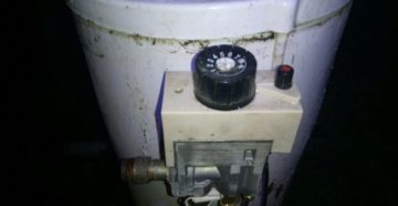 Замена термометра на 11 аогв