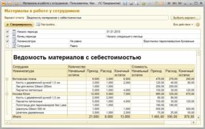 Положение по ведению складского учета в бюджетном учреждении